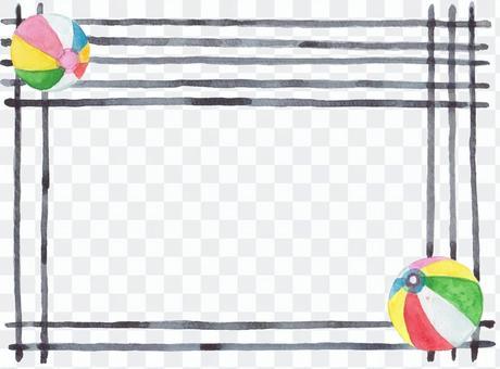 紙風船フレーム
