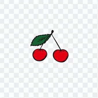 簡單的櫻桃圖