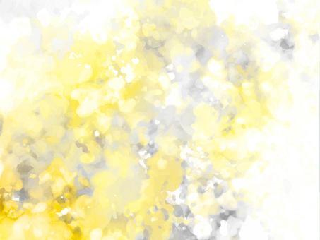 黃色和灰色水彩紋理背景