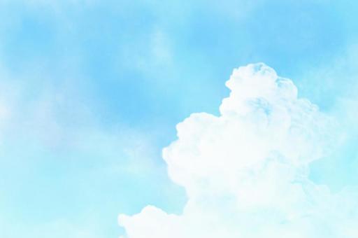藍天和雲彩