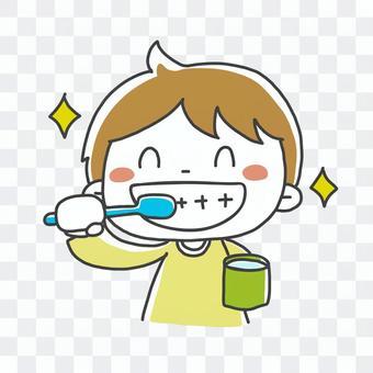 Toothpaste illustration