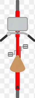 自行車從頂部看