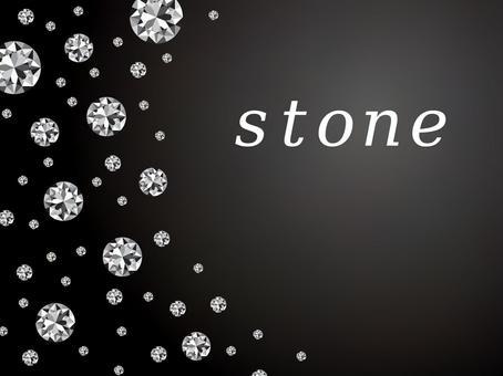 閃光寶石鑽石豪華黑色背景