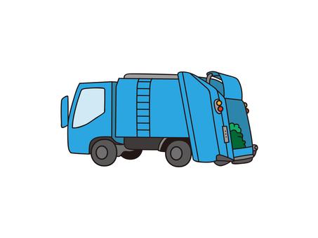 打包車、垃圾車、垃圾車、垃圾車