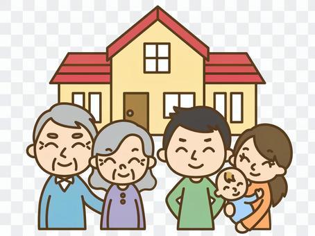 2世帯住宅と3世代家族