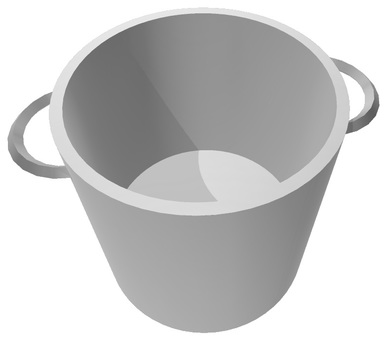 Dimensional pot