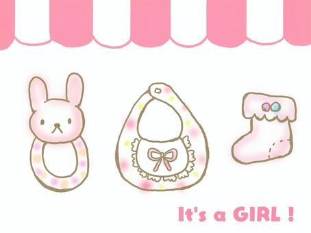 嬰兒用品(女孩)