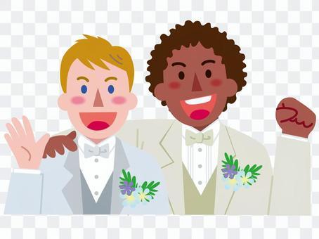 男性同士の結婚-2