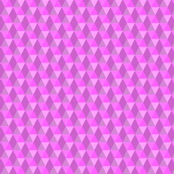 三角形六邊形圖案粉紅色背景