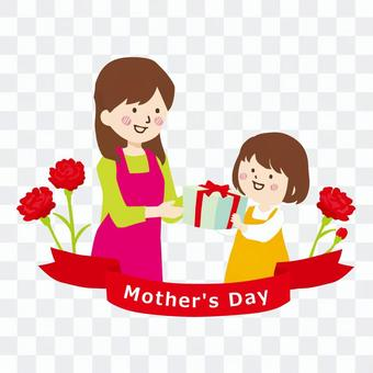 Mother's Day parent and child
