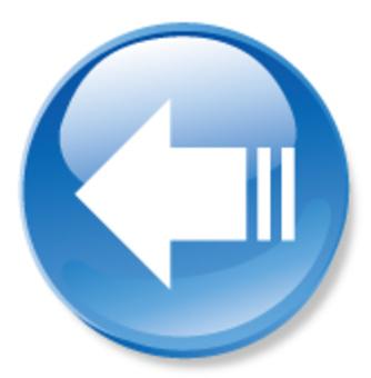 箭頭圖標 - 藍色