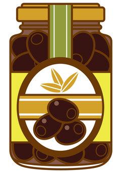 黑橄欖瓶裝-4c