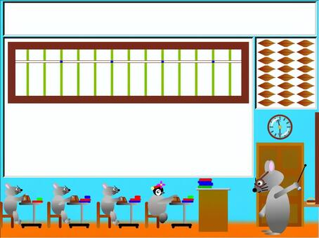 Abacus education with board