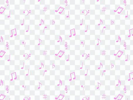 Musical note on one side wallpaper 3