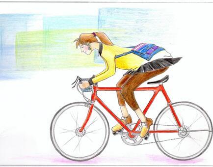 自行车通勤