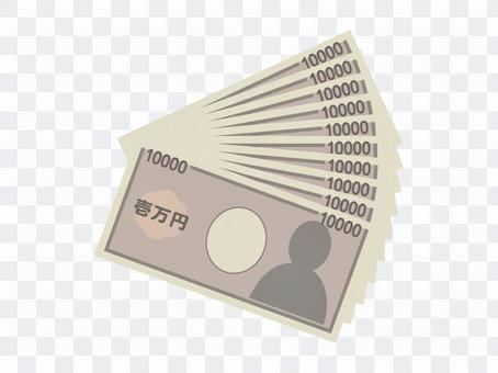 지폐 / 10 만원