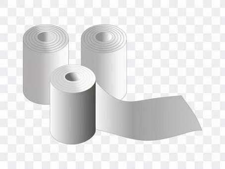 トイレットペーパー3巻き