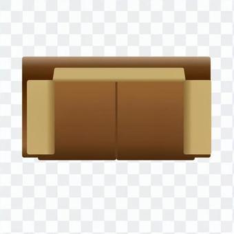 Sofa (Brown) 03