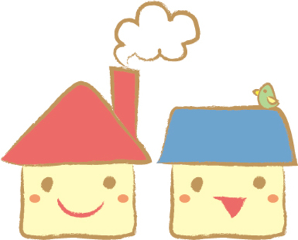 Fluffy house
