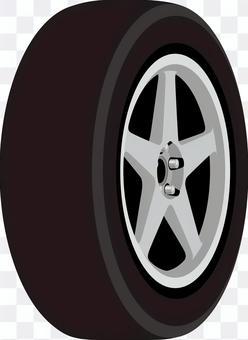 Car tire wheel