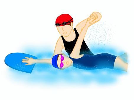 爬網輔助女孩和女教練