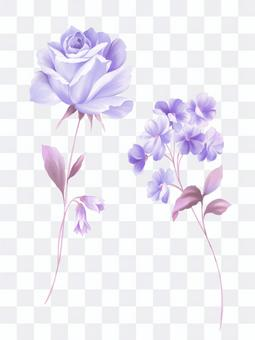 かわいい花のパーツ