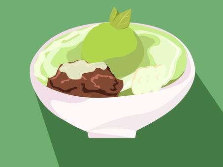 Ujikintoki冰淇淋