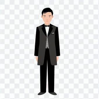 燕尾服男人1