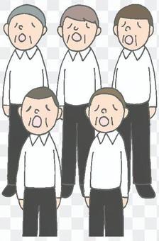 男聲合唱團成熟