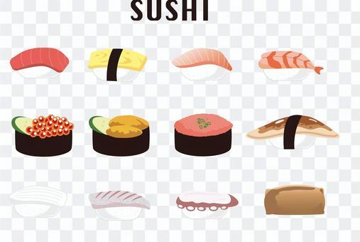 12種日本壽司套裝