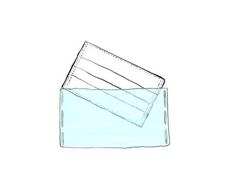 簡單的手寫面具盒