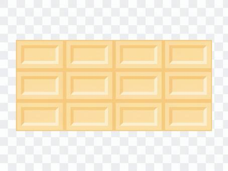 Board chocolate · white