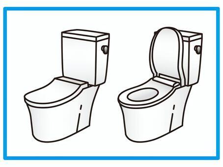 衛生間組合馬桶無洗手槽