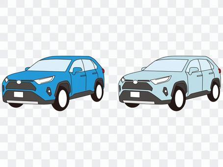 SUV 四駆 レジャーカー