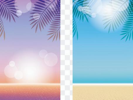 夏季背景9度假村海灘2件套