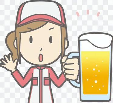 机械师女人 - 啤酒小心 - 胸围