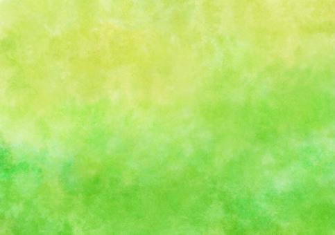 Yellow green watercolor wallpaper · A4 Novi