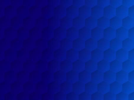 六角形 背景 ブルー ビジネス