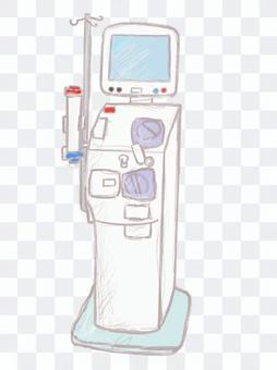 透析控制台監控裝置人工透析