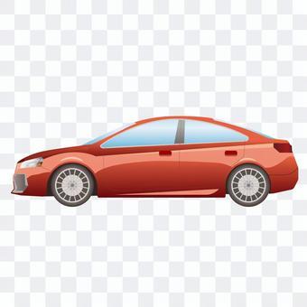 車側面 高級セダン3