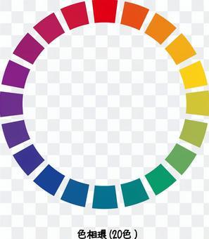 色相圈子顏色圖表顏色