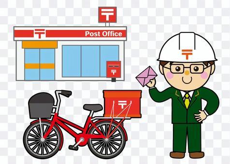 信件/電子郵件01_03(郵政遞送)