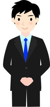 Businessmen's greetings 2