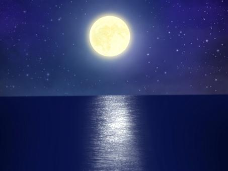 月亮路背景圖