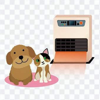 Pets and heating