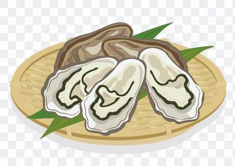 漏勺牡蠣(5個)