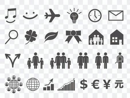 Icon Set - Family · Business