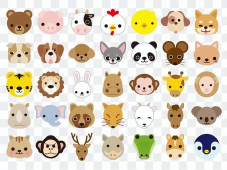 動物圖標集
