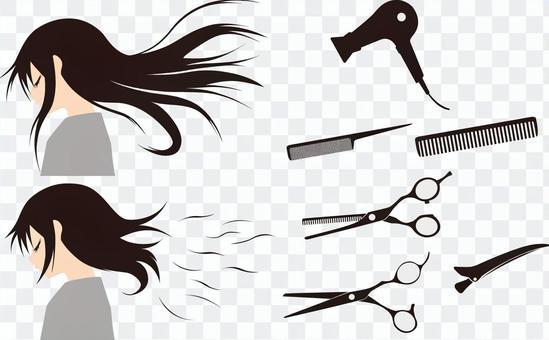 理髮師理髮1