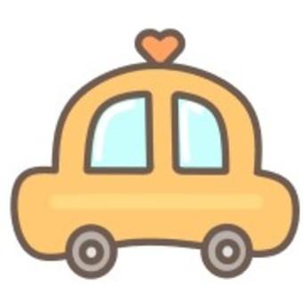出租車車可愛簡約車